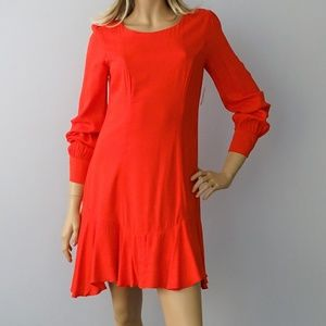 Bar III NWT Bloom Solid Fit & Flare Dress